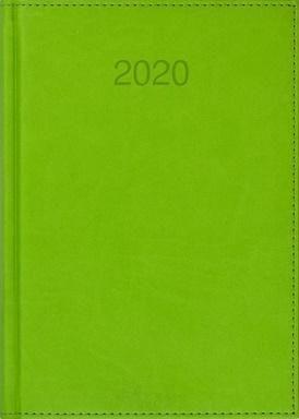CRUX Kalendarz 2020 Książkowy A5 dzienny Vivo jasnozie.
