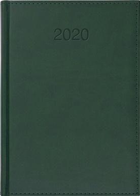 CRUX Kalendarz 2020 Książkowy A5 dzienny Vivo zielony