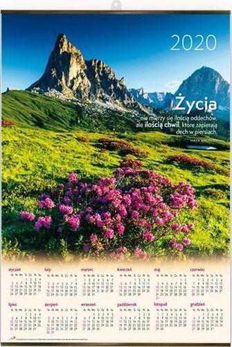 Edycja Świętego Pawła Kalendarz 2020 Plakatowy duży - Góry