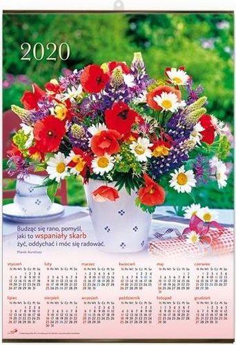 Edycja Świętego Pawła Kalendarz 2020 Plakatowy średni - Bukiet