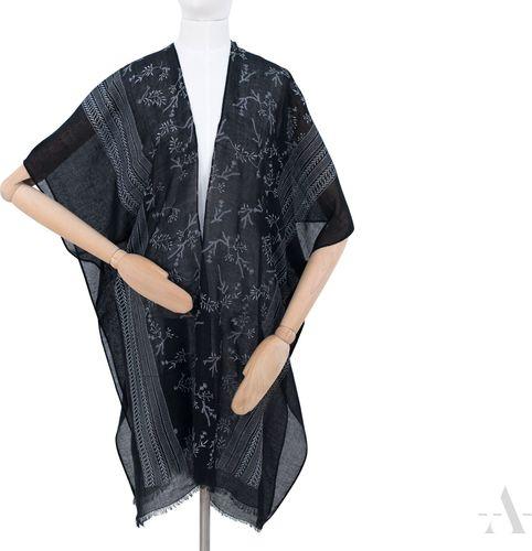 Art of Polo Pareo Boho Czarne - Uniwersalny