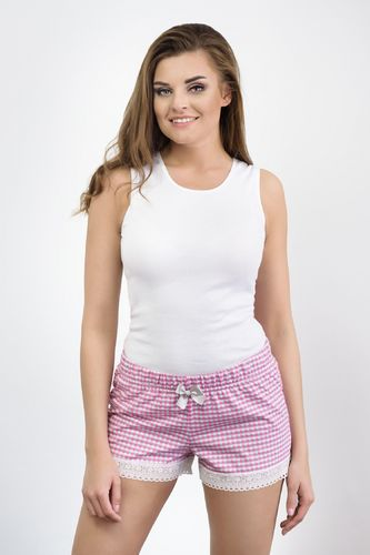 Babella Krótkie spodenki Bella Pink 3122 - XL