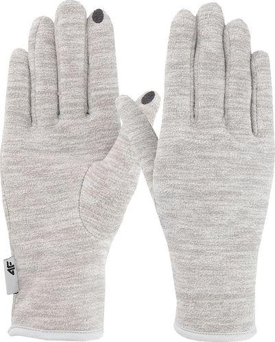 4f Rękawiczki sportowe H4Z19-REU065 szare r. XS
