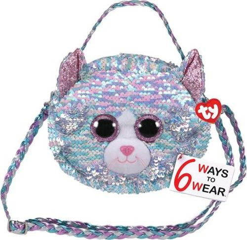 TY TY Fashion Sequins cekinowa torba na ramię WHIMSY - kot 95133 TY