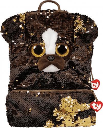TY TY Fashion Sequins duży cekinowy plecak BRUTUS - panda 95043 TY