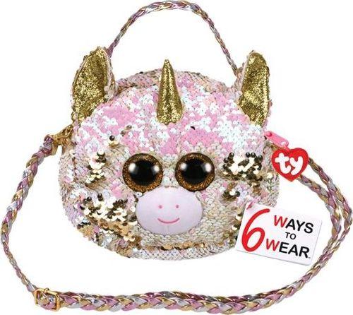 TY TY Fashion Sequins DOTTY - cekinowa torba na ramię jednorożec 95121