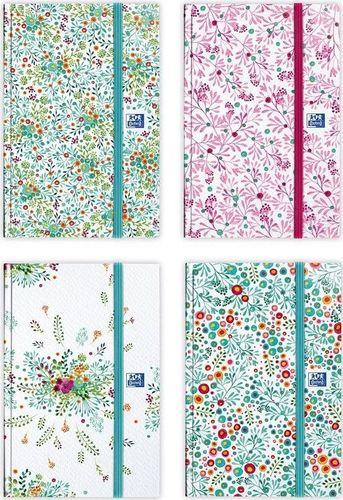 Oxford Kalendarz 2020 książkowy 15x21 Flowers OXFORD