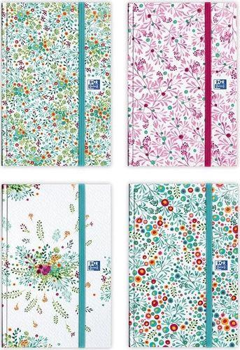 Oxford Kalendarz 2020 książkowy 10x15 Flowers OXFORD