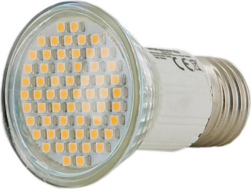 Whitenergy LED E27, 60 SMD, 3W, 230V, ciepła biała, reflektor (09480)