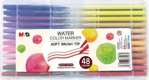 M&G Pisak artystyczny pędzelkowy 48 kolorów