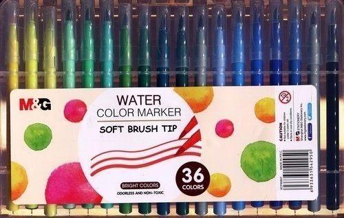 M&G Pisak artystyczny pędzelkowy 36 kolorów