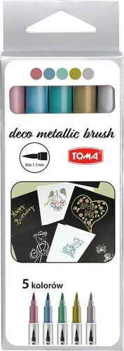 Toma Pisak Metallic Brush 5 kolorów TOMA