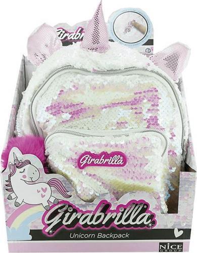Russell Plecak Girabrilla Jednorożec biały