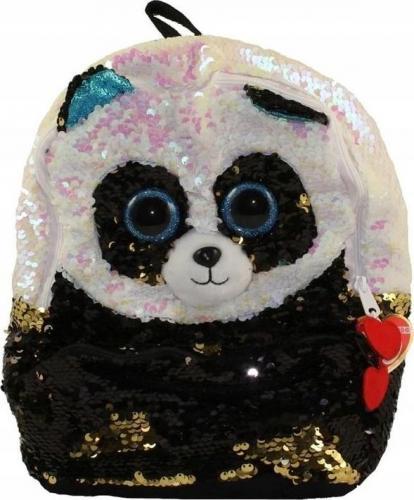 TY TY Fashion Sequins duży cekinowy plecak BAMBOO - panda 95042 TY