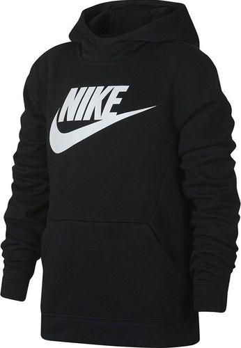 Nike Bluza dziecięca B Nsw Po Hoodie Club Flc Hbr czarna r. XS (BV0783-010)