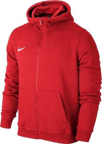 Nike Bluza dziecięca Team Club Fz Hoody czerwona r. XL (658499-657)
