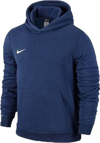 Nike Bluza dla dzieci Nike Team Club Hoody granatowa 658500 451 XS