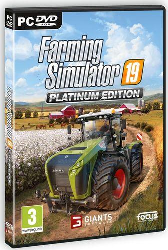 Farming Simulator 19 - Edycja Platynowa PL (PC)
