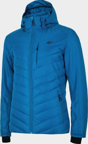 4f Kurtka narciarska męska H4Z19-KUMN004 niebieska r. XL