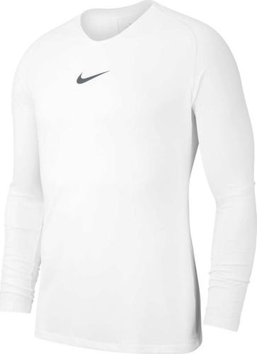 Nike Koszulka dziecięca Y Nk Dry Park First Layer biała r. S (AV2611-100)