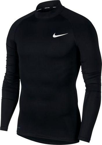Nike Koszulka męska Np Top Tight Mock czarna r. M (BV5592-010)