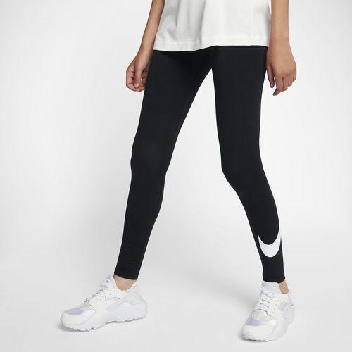 Nike Legginsy damskie Nsw Leggins Club Logo 2 czarne r. S (815997 010)