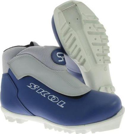 Buty narciarskie biegowe 9498x granatowe r. 42