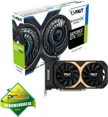 Karta graficzna Palit GeForce GTX 750Ti 2GB DDR5 (128 bit) VGA, DVI, mHDMI (NE5X75TT1341F)