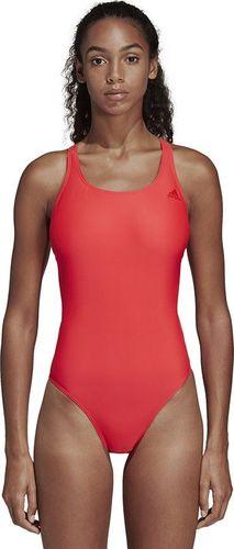 Adidas Strój kąpielowy Fit Suit Soi czerwony r. 32 (D3313)