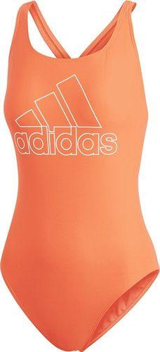 Adidas Strój kąpielowy Fit Suit Bos pomarańczowy r. 32 (DY5900)
