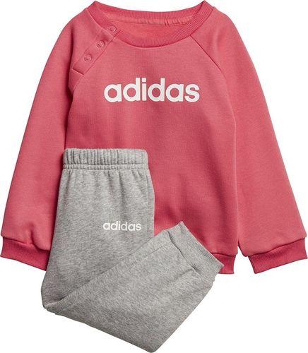 Adidas Dres adidas I Lin Jogg FL EI7962 EI7962 różowy 86 cm