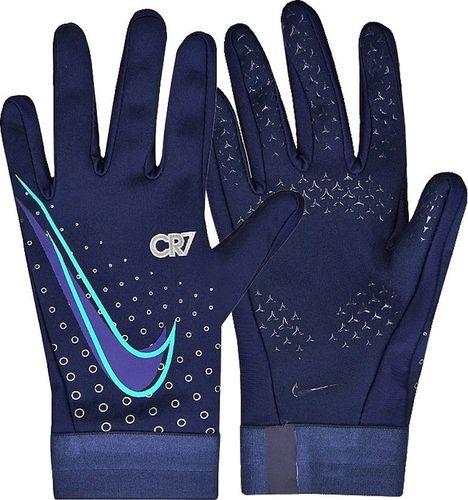 Nike Rękawiczki unisex CR7 Hyperwarm HO19 niebieskie r. L (GS3906-492)