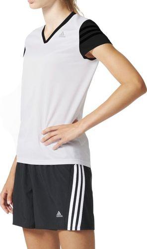 Adidas Koszulka damska ND RS CAP SS W biała r. XS (AC2146)