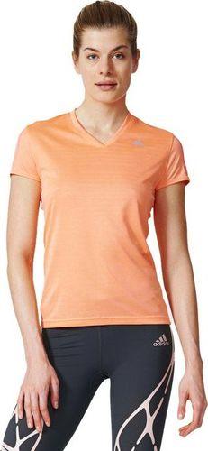 Adidas Koszulka damska Rs Ss W pomarańczowa r. XS (AX6582)