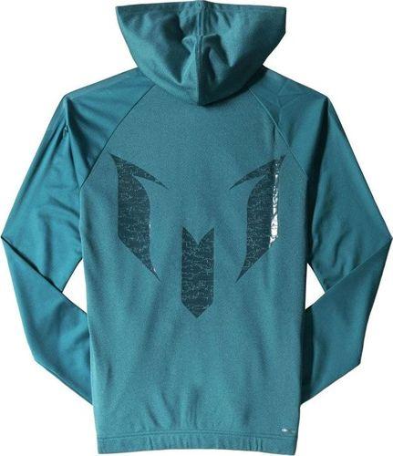 Adidas Bluza dziecięca Yb M Fz Hoodie zielona r. 110 (S08754)