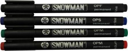 Snowman Foliopis średnia zielony OPM