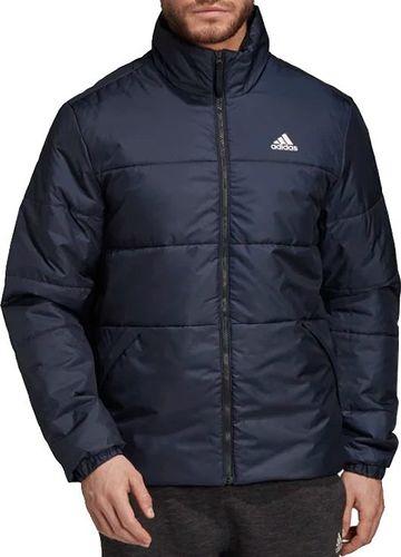 Adidas Kurtka męska BSC 3-Stirpes Insulated Jacket granatowe r. M (DZ1394)