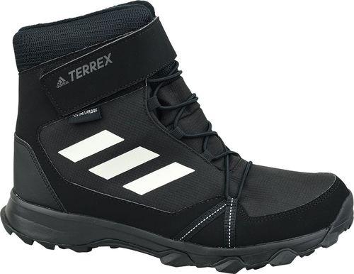 Adidas Buty dziecięce Terrex Snow Cf Cp Cw K czarne r. 28.5 (S80885)