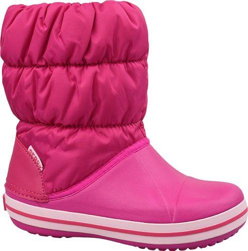 Crocs Buty dziecięce Winter Puff Boot Kids różowe r. 32/33 (14613-6X0)
