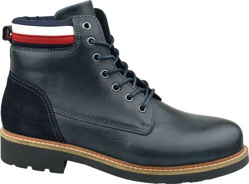 Tommy Hilfiger Buty męskie Active Corporate Boot granatowe r. 41 (FM0FM02654-CKI)