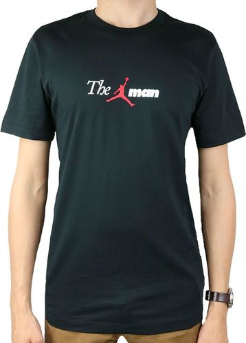 Jordan  Koszulka męska Air The Man Tee czarna r. M (AO0684-010)