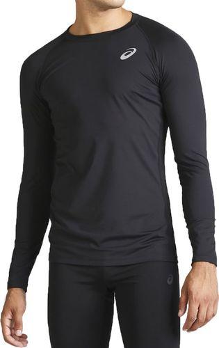 Asics Koszulka męska Base Layer Longsleeve Top czarna r. XL (2031A438-0904)