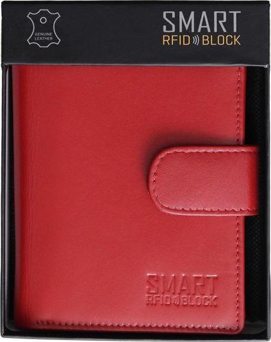 KORUMA Damski portfel SMART RFID BLOCK - SM-904PR Uniwersalny