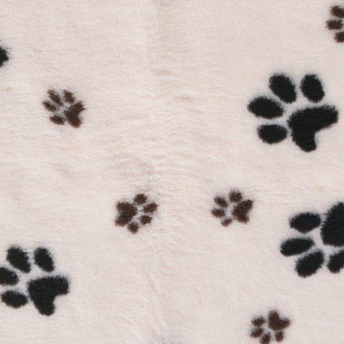 Dry Bed DryBed (VetBed) - antypoślizgowe posłanie, legowisko dla zwierząt, biało-czarny 100 x 75