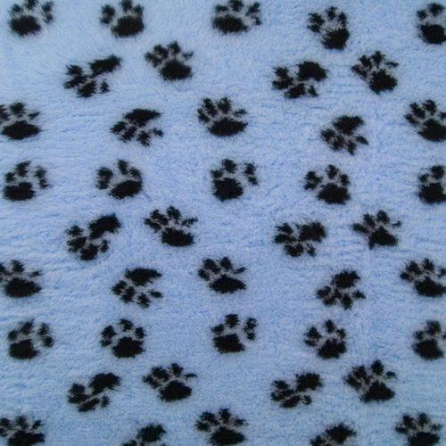 Dry Bed DryBed (VetBed) - antypoślizgowe posłanie, legowisko dla zwierząt, błękitno-czarne 150 x 100