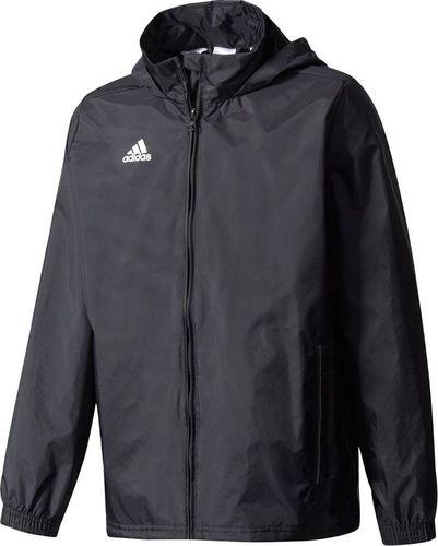 Adidas Kurtka przeciwdeszczowa dla dzieci adidas Coref Rain Junior czarna BR4120 M35321 152cm