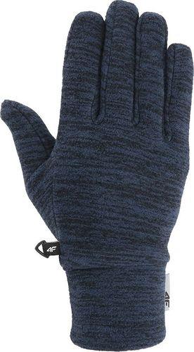 4f Rękawiczki zimowe H4Z19 REU061 granatowe r. L