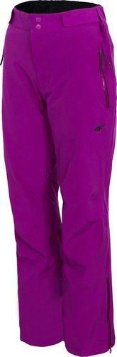 4f Spodnie damskie H4Z19 SPDN003 fioletowe r. L