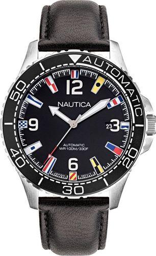Zegarek Nautica Automatyczny zegarek Nautica Jones Beach NAPJBF911 Flags Data uniwersalny