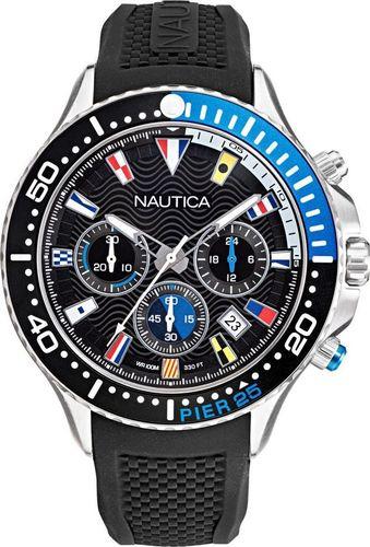 Zegarek Nautica Zegarek Nautica Pier 25 NAPP25F09 Chronograf uniwersalny